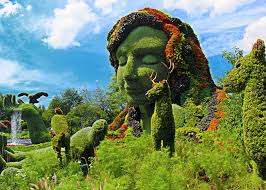 Botanical Gardens Discount Check Out These Living Sculptures At Montreal S Botanical Gardens