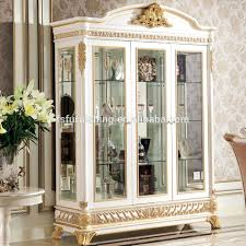 3 door display cabinet yb62 french rococo style living room furniture wine display