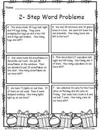 word problem steps using