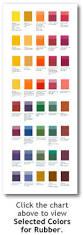 color chart for rubber akrochem corporation