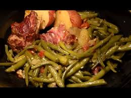 soul food southern style green beans turkey necks u0026 potatoes