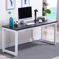 Home Office Computer Desk Furniture Ktaxon Wood Computer Desk Pc Laptop Study Table Workstation Home