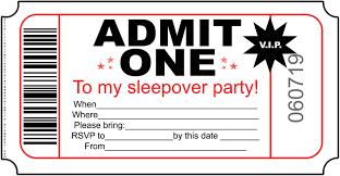 free slumber party invitations to print cimvitation