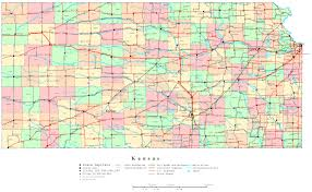 Kansas City Metro Map by Printable Map Of Kansas Printable Maps