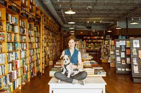 ann patchett s guide for bookstore lovers the new york times ann patchett at her bookstore parnassus books in nashville with one of her shop dogs credit heidi ross
