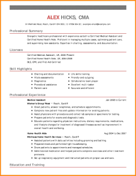 home health aide resume home health aide resume how to write exles included best