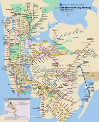 map of nyc subway map nyc with stops and of ny angelr me
