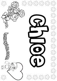 chloe coloring sheets girls coloring pages