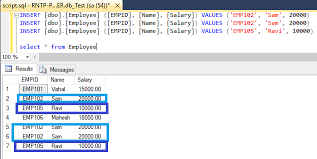 Delete Data From Table Rank Dense Rank And Row Number Functions In Sql Server