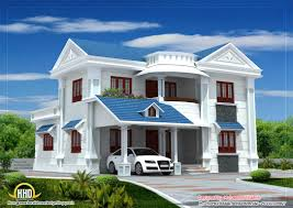 kerala home design blogspot com 2009 beautiful house elevation 2317sq ft kerala home design and