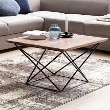 Wohnzimmertisch Holz Quadratisch Finebuy Design Couchtisch Okala Sheesham Massivholz 71 X 71 X 45