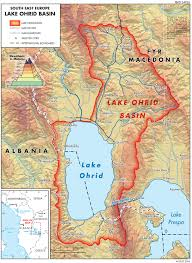 Map Of Southeastern Europe by Lake Ohrid Basin Map U2014 Twrm Med