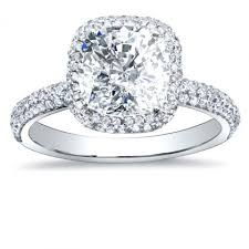 halo cushion cut engagement ring cushion cut engagement rings