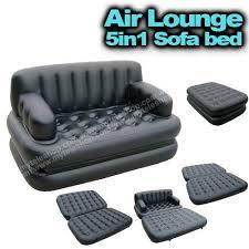 Air Sofa 5 In 1 Bed Bestway Air Lounge Sofa 5 In 1 Black Farhan Fitness