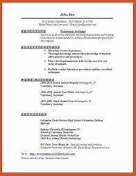 Veterinary Technician Resume Sample by Veterinary Technician Resume Examples Medical Assistant Cover