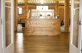 Rustic Reception Desk Bay Area Custom Furniture