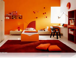 Bedroom Orange Paint Ideas House Design And Planning - Bedroom orange paint ideas