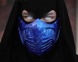 Halloween Costume Kids Mortal Kombat Inspired Mask Cosplay Airsoft Mask