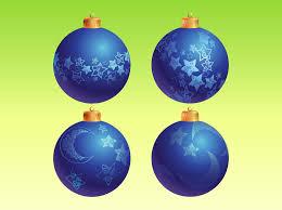 blue christmas ornaments vector art u0026 graphics freevector com
