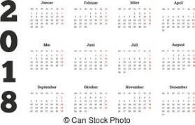 Kalender 2018 Hd Clipart Vektor Kalender 2018 Woche