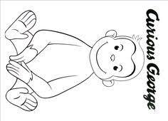 free printable monkey coloring cj 1st birthday