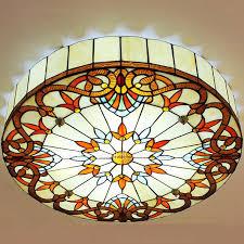 Ls Ceiling Lights Baroque Flush Mount Ceiling Light E27 Base