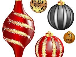 cool vector christmas balls christmas vector graphics art free