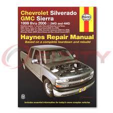 gmc sierra 1500 haynes repair manual base hybrid classic slt ht
