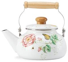 lenox butterfly meadow tea kettle traditional teapots by tfc