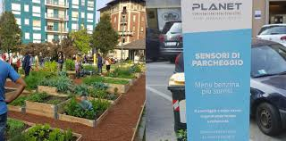 the smart garden nedap u0027s parking sensors in first smart square of italy