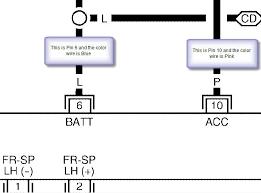 2002 nissan sentra radio wiring diagram tamahuproject org