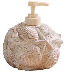 unique soap dispenser amazon com park designs shell soap dispenser home u0026 kitchen