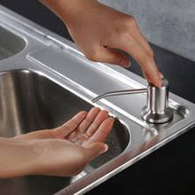 Kitchen Sink Capacity by Popular Dispenser Kitchen Sink Liquid Soap Buy Cheap Dispenser