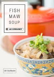 Disney Le Creuset Going Local With Le Creuset Fish Maw Soup Life U0027s Tiny Miracles