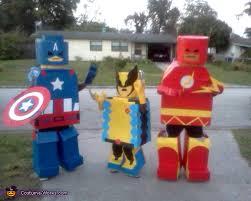 Lego Halloween Costume Lego Superheroes Costume Homemade Costumes Costumes