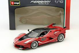 toy ferrari model cars ferrari fxx k red 1 18 diecast car model by bburago 18 16010