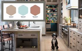 best paint for kitchen cabinets ppg here s how to bring the best 2021 color trends to your