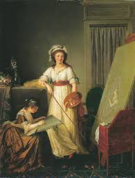 Atelier Of An Artist Or Atelier Of A Painter Probably Madame
