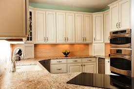 modern white kitchens pull up faucet mix smooth surface cooktops
