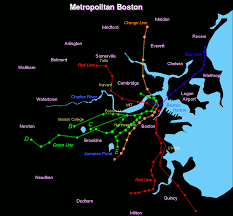 Boston Ferry Map by Metromap Gif