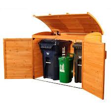 refuse storage shed canada blue carrot com