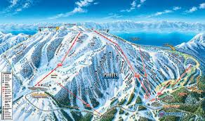 Utah Ski Resort Map by Heavenly Mountain Ski Area Trail Map 300x209 Lake Tahoe Ski