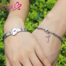 charm bracelet for ouyan couples bracelets key to my heart bangle and bracelet set