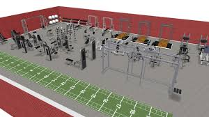 3d gym design fitness equipment ni