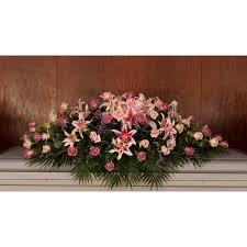 casket sprays funeral flowers casket sprays garlands kremp