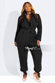 plus jumpsuit shop plus size rompers jumpsuit monif c plus size clothing