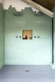 Green Tile Bathroom Ideas Hexagonal Tiles Best Hexagon Tile Bathroom Ideas On Hexagon Tile