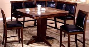 Dining Table Corner Booth Dining Corinna White Black Leather Dining Set Kitchen Booth Breakfast