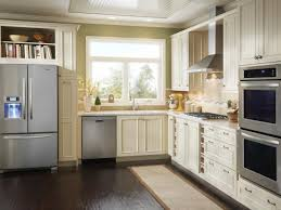 All White Kitchen Cabinets Kitchen White Kitchen Cabinet With Black Ceramic Floor For Small