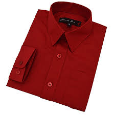 amazon com johnnie lene boy u0027s long sleeves solid dress shirt